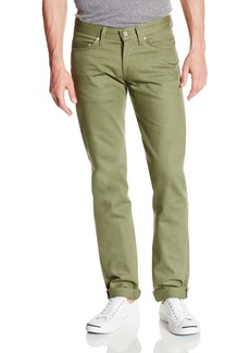 Naked & Famous Denim Men's Weird Guy Tapered Fit Chino Jean  x35