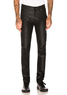 Naked & Famous Denim Stacked Guy 12oz Black Waxed Stretch