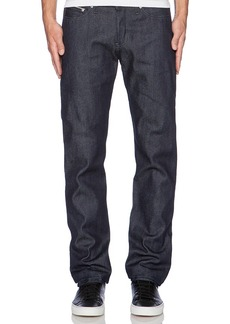 Naked & Famous Denim Weird Guy Indigo Selvedge