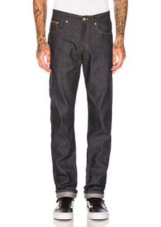 Naked & Famous Denim Weird Guy Dobby Diamond Selvedge