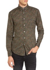 Naked & Famous Floral Shirt