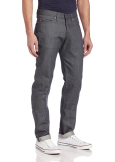 Naked & Famous Denim Men's WeirdGuy Low Rise Tapered Leg Jean In   x35