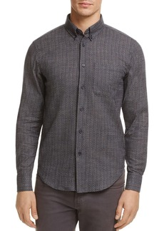 Naked & Famous Printed Button-Down Regular Fit Shirt