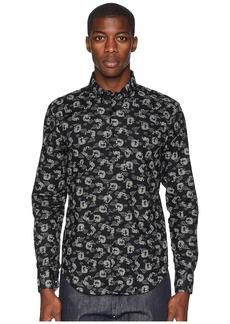 Naked & Famous Regular Shirt Dragon Print