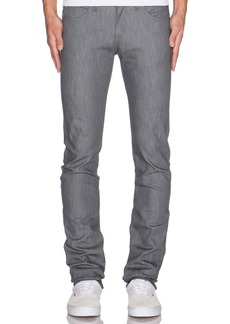 Naked & Famous Skinny Guy Grey Stretch