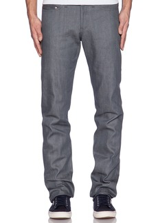Naked & Famous Weird Guy Grey Selvedge