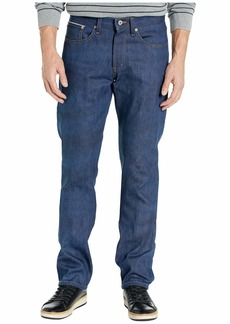 Naked & Famous Weird Guy Kasuri Stretch Selvedge Jeans