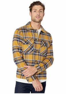 Naked & Famous Work Shirt - Heavyweight Vintage Flannel Button-Down