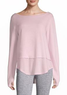 Nancy Rose Performance Rival Lace-Up Sweatshirt