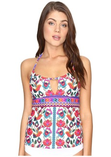 Nanette Lepore Antigua Honey Tankini Top