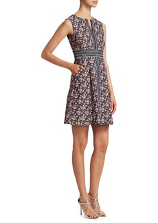 Nanette Lepore Bonnie Sleeveless Brocade Shift Dress