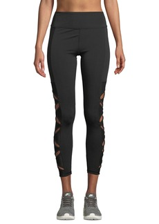 Nanette Lepore Butterfly Panel Cutout Leggings