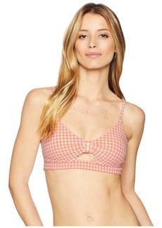 Nanette Lepore Capri Gingham Enchantress Bikini Top
