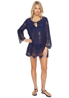 Nanette Lepore Carnaby Crochet Tunic Cover-Up