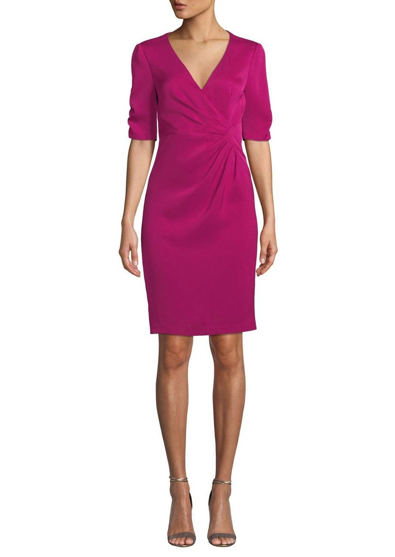 Nanette Lepore Carnival 3/4-Sleeve Sheath Dress