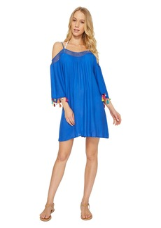 Nanette Lepore Cha Cha Cha Off the Shoulder Dress Cover-Up