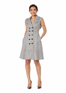 Nanette Lepore Check Trench Dress