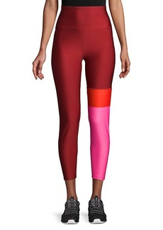Nanette Lepore Colorblock High-Waist Leggings