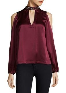 Nanette Lepore Coquette Silk Top