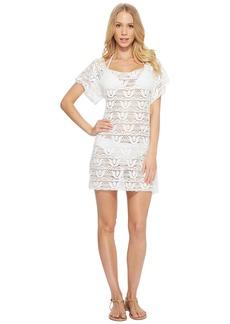Nanette Lepore Crochet Short Dress Cover-Up