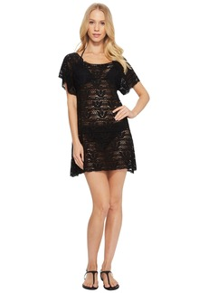 Nanette Lepore Crochet Short Dress Cover-Up