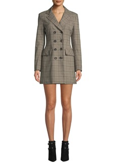 Nanette Lepore Espionage Mini Dress in Plaid