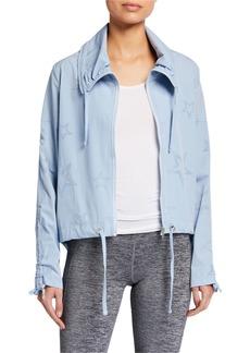 Nanette Lepore Estrella Star Pattern Perforated Jacket