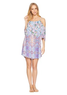 Nanette Lepore Festival a Cannes Cold Shoulder Tunic Cover-Up