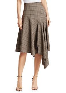 Nanette Lepore First Bet Plaid Handkercheif Skirt