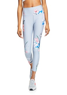 Nanette Lepore Floral Cropped Leggings