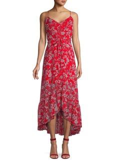 Nanette Lepore Floral High-Low Midi Dress