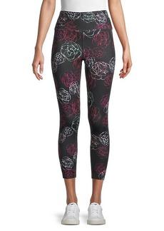 Nanette Lepore Floral-Print Ankle-Length Leggings