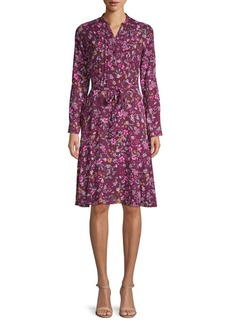 Nanette Lepore Floral Shirtdress