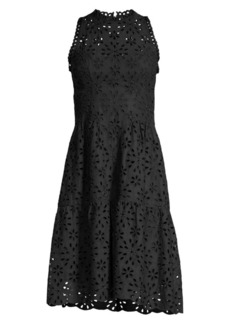 Nanette Lepore Flower Child Eyelet Dress