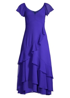 Nanette Lepore Flutter Midi Dress