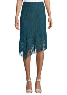 Nanette Lepore Gin Mill Fringe Skirt