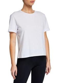 Nanette Lepore Graphic Skull-Embroidered Short-Sleeve T-Shirt
