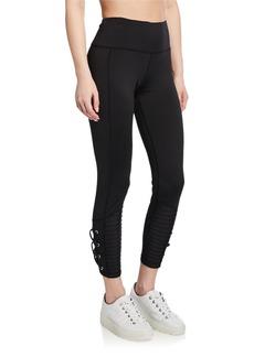 Nanette Lepore High-Rise Moto-Lace Legging