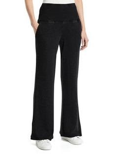 Nanette Lepore High-Waist Wide-Leg Sweatpants