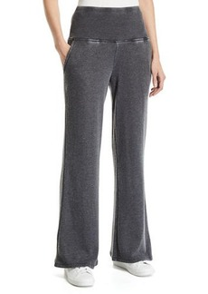 Nanette Lepore High-Waist Wide-Leg Sweatpants