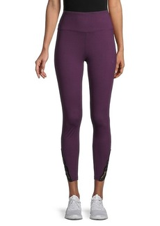 Nanette Lepore Lace-Trim Ankle-Length Leggings