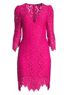 Nanette Lepore Late Night Lace Sheath Dress