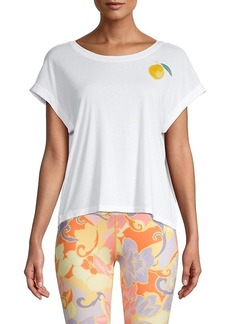 Nanette Lepore Lemon Short-Sleeve Top