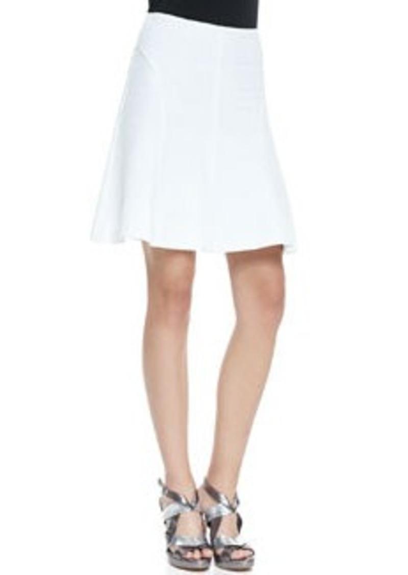 Nanette Lepore Love Chase A-Line Pique Skirt   Love Chase A-Line Pique Skirt