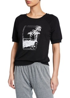 Nanette Lepore Mission Hills Short-Sleeve Graphic Tee