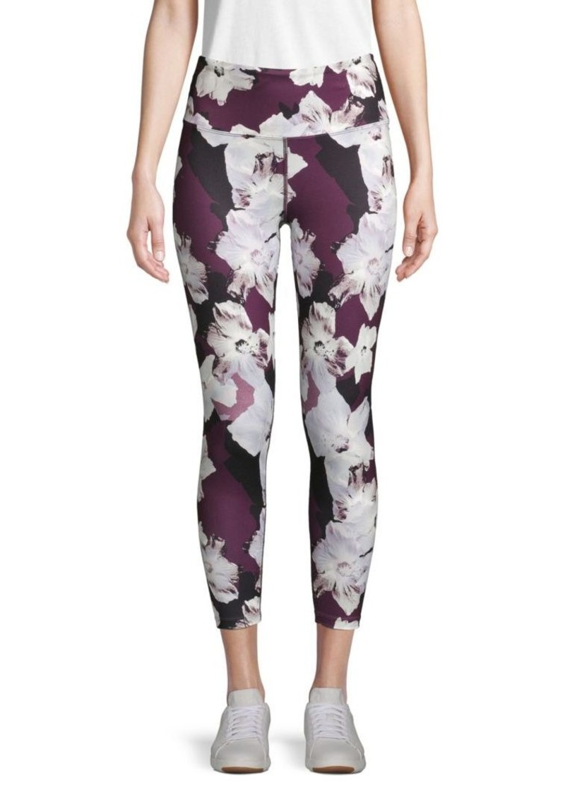 Nanette Lepore Moody Floral Cropped Leggings