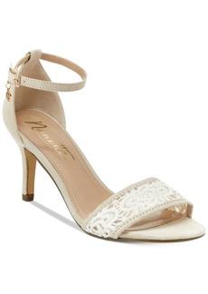 Nanette by Nanette Lepore Beauty Two-Piece Crochet Sandals Women's Shoes