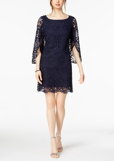 Nanette by Nanette Lepore Bell-Sleeve Lace Dress