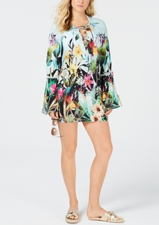 Nanette Lepore Bloomin' Botanical Tunic Cover-Up Women's Swimsuit