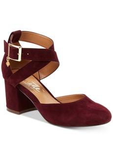 Nanette by Nanette Lepore Demi Two-Piece Block-Heel Pumps Women's Shoes